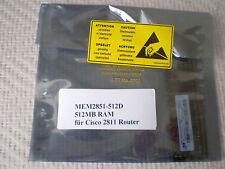 MEM2851-512D 512MB DRAM MEMORY für CISCO 2800 2851