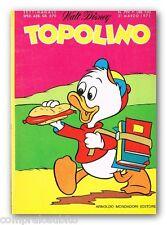 TOPOLINO  799 - 21 Marzo 1971 Disney Mondadori
