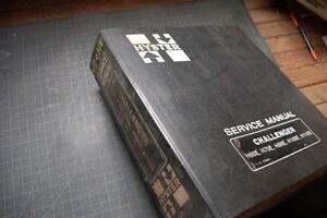 HYSTER CHALLENGER H60E H70E H80E H100E H110E Forklift Repair Shop Service Manual