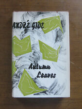 AUTUMN LEAVES by Andre Gide 1950 1st/1st HCDJ French Nobel Philosophy $3.75 VG+