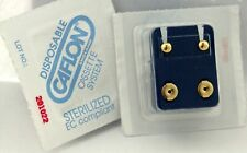 CAFLON GOLD PLATED Hypoallergenic  EAR-PIERCING STUDS NEW