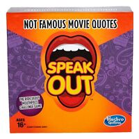 Hasbro Gaming Speak Out Expansion Pack NOT FAMOUS MOVIE QUOTES