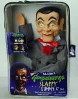 "Slappy Dummy Ventriloquist Doll Famous ""Star of Goosebumps"" Glow In Dark Eye NEW"