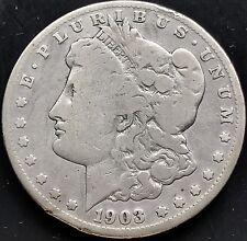 USA 1903 S Morgan Dollar San Francisco Silber Sehr Selten RARE 4366