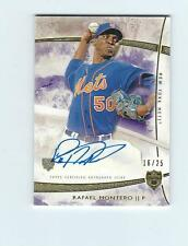 2014 Topps Supreme Autographs Purple #SARMO Rafael Montero   AUTO METS #'d 16/25