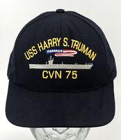 US Navy USS Harry S Truman CVN-75 Maiden Voyage Adjustable Dad Hat Cap USA D