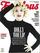 Fabulous Magazine:Holly Willoughby, Philip Schofield, Double Your Salary 10.4.16