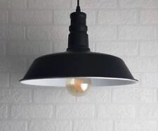 Vintage Retro Modern Industrial Black Lamp Shade Pendant Ceiling LED Loft Light