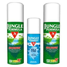 Jungle Formula Travel Pack Insect Repellent  Spray Mosquito Holiday Bite Sting