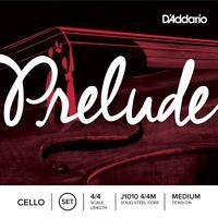 D'Addario Prelude CELLO Strings Set 4/4 Medium