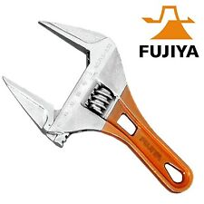 53mm Wide Jaw Shifter Compact Adjustable Wrench Only 185mm long  Fujiya Taiwan