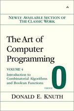 The Art of Computer Programming, Volume 4, Fascicle 0: Introduction to Combinato