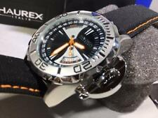 Haurex Italy BLACK SEA Men's Day/Date Sport Diver Watch  HAU8A365UNO