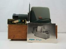 Vintage Argus 300 Projector w/ Spare Blue Top Projection Lamp