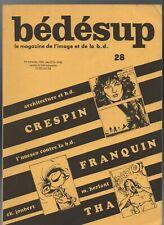Bédésup N°28 / FRANQUIN / CRESPIN /  Fanzine de BD. 1984. (RC1)