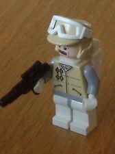 Lego Star Wars Minifigura SW258 Hoth Rebel Officer-corto Blaster Y Mochila