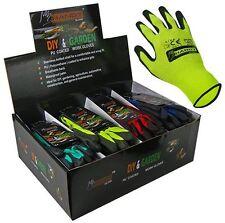 Adults Unisex PU Coated DIY, Work, Gardening Seamless Gloves by Handy Glove