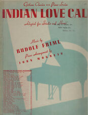 Indian Love Call By Rudolph Friml Sheet Music - Piano Solo