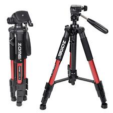 Zomei Q111 Red Professional Aluminum Tripod Pan head for Canon Nikon DSLR Camera
