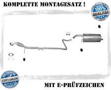 Auspuffanlage Ford Fiesta VI 1.25 1.4 Auspuff Flexrohr Montagesatz ab Bj.07.08