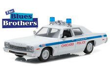 1:24 Greenlight - Blues Brothers 1975 Dodge Monaco - Chicago Police Department