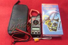 Dt266c Handheld Digital Ac Voltage Amp Resistance Clamp On Meter Multimeter