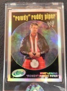 2007 eTopps Topps WWE Rowdy Roddy Piper Refractor 374/999