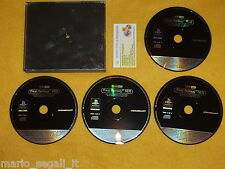 FINAL FANTASY 8 VIII VERSIONE PROMO ITALIANA PLAYSTATION 1 PS COMPLETO NEW RARO