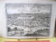 Vintage Print,CITE DE LOANGO#1,18th Century,Views of Trade Ports,1748