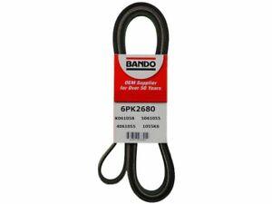 For 2000-2002 Lincoln LS Multi Rib Belt 77245ZV