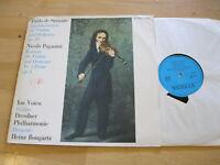 LP Bongartz Pablo de Sarasate Nicolo Paganini Voicu Vinyl Eterna DDR 8 25 840