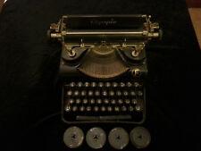 Dachbodenfund: Antike alte Schreibmaschine Olympia  Erfurt aus den 30/40ern ?!
