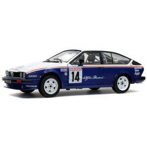 Alfa Romeo GTV6 #14 Tour de Corse 1986 1991 1/18 - S1802303 SOLIDO