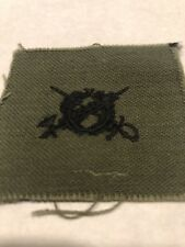 WWII 1939-1945 Era Military Patch Original Embroidered  USA  Stock # 421