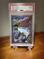1996 Topps Finest Derek Jeter PSA 9 Rookie Card