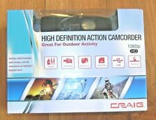 Craig CCR9024 HD Video Camera Recorder Outdoor Go Waterproof Helmet Pro Cam NEW