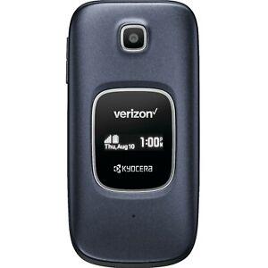Kyocera Cadence S2720 - Blue - Verizon (Unlocked) 4G LTE Flip Camera Smartphone