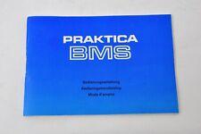 Pentacon Praktica BMS  Anleitung  Gebrauchsanleitung Zubehör DDR