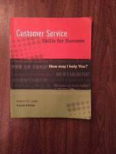 Customer Service Skills for Success by Robert W. Lucas (2008, Paperback)