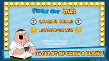 [iOS/Android] Family Guy: Quest For Stuff 1,000,000 Clams & Coins!
