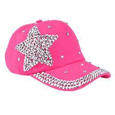 Korean Unisex Men Women Baseball Cap Star Snapback Visor Hip-Hop Adjustable Hat