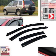 Window Visor Rain Vent Shade Sun Guard Honda CRV CR-V 2002 2003 2004 2005 2006