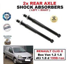 2x Amortiguadores traseros SET para RENAULT CLIO II Caja 1.2 1.5 dCi 1.9 D 1998-