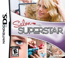 Salon Superstar - Beautician Simulation Hair Styling DS/Lite/DSi/XL/3DS NEW