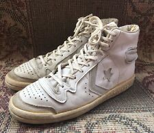 Converse Pro Star Ox 80's Pro Leather Vintage Shoes Hi Top Made In USA  10