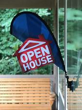 Open House Sign Real Estate Flag Apartment Leasing Sign Flag Kit Small Flag Kit