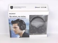 *OPEN BOX* Sony MDR-ZX770DC Bluetooth and Noise Canceling Headphones (Black)