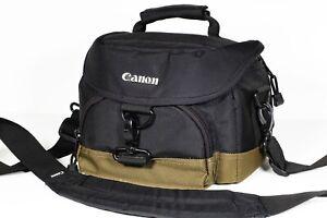 Canon Camera Shoulder Bag Padded Case to fit DSLR and lenses