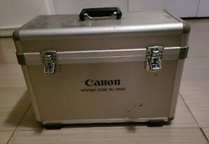 Canon HC-1000 Large Foam Lined Aluminum Case
