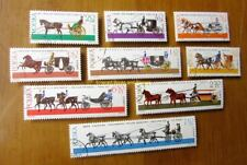 EBS Topicals Poland Polska 1980 Horse-Drawn Vehicles - Transport Koni 8589